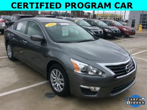 Certified Pre-Owned 2015 Nissan Altima 2.5 S FWD 4D Sedan